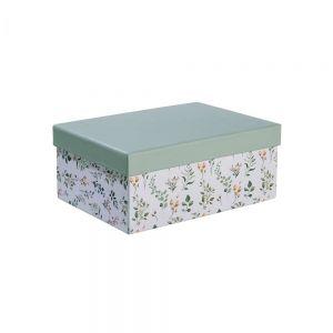 MA FLEUR - κουτί αποθήκευσης floral, διάσταση A5