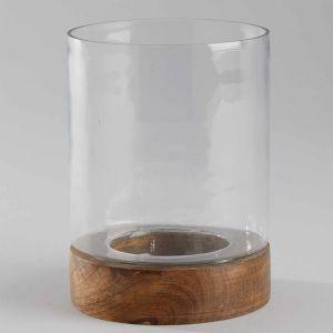 MANGO DAYS - κηροπήγιο με ξύλο 13c