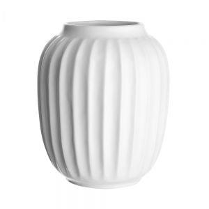 LIV - κεραμικό βάζο Δ16,5 Υ20cm, λευκό
