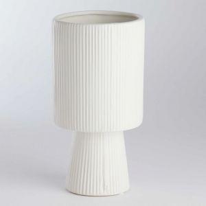 ROME - κασπό, ύψος 20cm, ματ λευκό