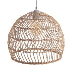 CORBELLE - καπέλο φωτιστικού οροφής από ραττάν Υ 38cm