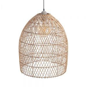 CORBELLE - καπέλο φωτιστικού οροφής από ραττάν Υ 50cm