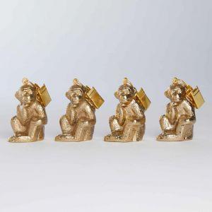 "GOLDEN NATURE - βαρίδιο για τραπεζομάντηλα ""monkey"""