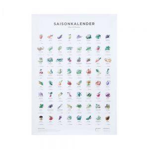 SAISONKALENDER - πληροφορίες για φρούτα και λαχανικά (DE)