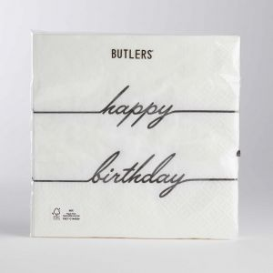 "APRES - Χαρτοπετσέτες ""Happy Birthday"""