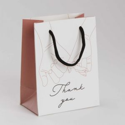 CELEBRATION - mini τσάντα Thank You hands