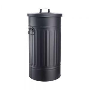 ZINC - κάδος απορριμμάτων Oskar 40 L μαύρο