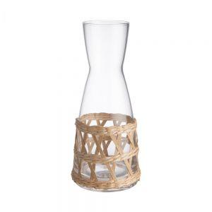LE HAVRE - καράφα με σχέδιο από καλάμι 900 ml