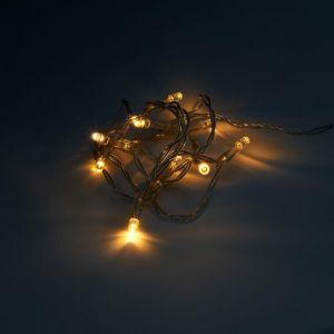 10 LIGHTS - LED δικοσμητικά λαμπάκια διαφανή 10L, λειτουργεί και με USB