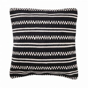 INHABITAS - μαξιλάρι, μαύρο/κρεμ
