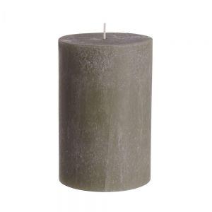 RUSTIC - κερί Δ9,8x15cm, taupe