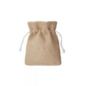 PACK-A-BAG - πουγκί από γιούτα 11x14cm, φυσικό