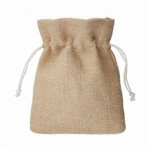 PACK-A-BAG - πουγκί από γιούτα 14x18cm, φυσικό