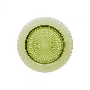 TINTOS - πιάτο γυάλινο Δ 21 cm, πράσινο